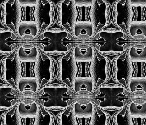 Super_Highways_and_Byways_Monochrome_Seamless_8_x_8 fabric by bluewrendesigns on Spoonflower - custom fabric