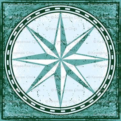 sea map star