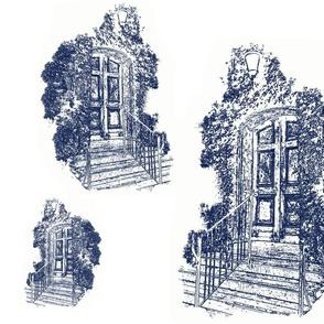 Faded_Doorway in Navy…_Cynthia_Weber