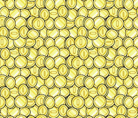 Insert Coin fabric by jmckinniss on Spoonflower - custom fabric