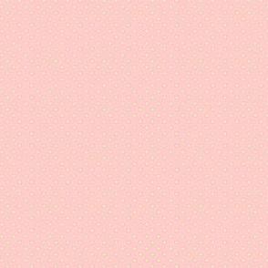 Dottie pink with cream