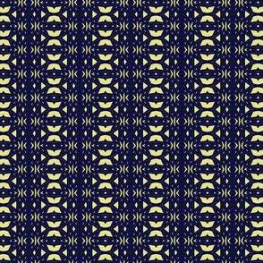 Geometric 1257 retrodark r1 k1 gray, electric blue, r0007 yellow