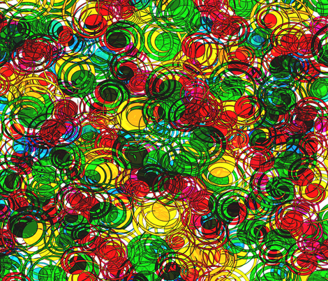 Curlies fabric by glanoramay on Spoonflower - custom fabric