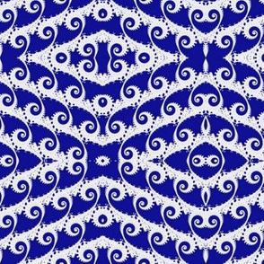Tilting Blue Waves of Fractal
