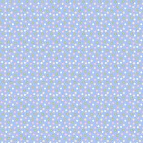Spot candy blue