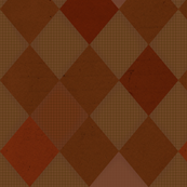 Harlequin Check Brown