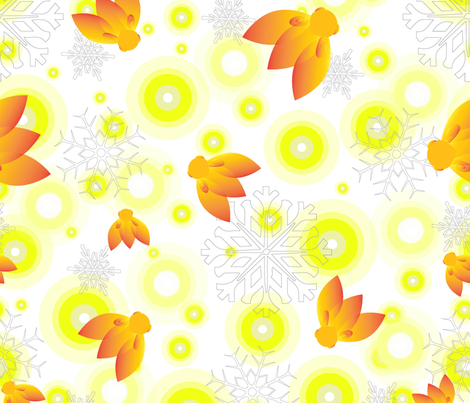 Fire & Ice  fabric by jane_turnbull on Spoonflower - custom fabric