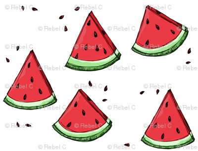 Watermelon scatter