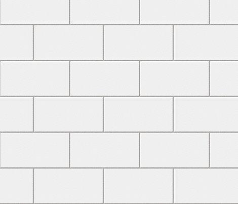 White Subway Tile Kitchen Wall