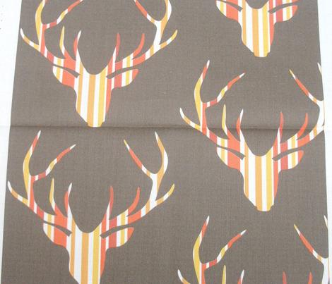Deerhead Orange Stripes