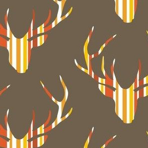 Deerhead Orange Stripes