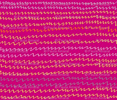 Gallah zigzag