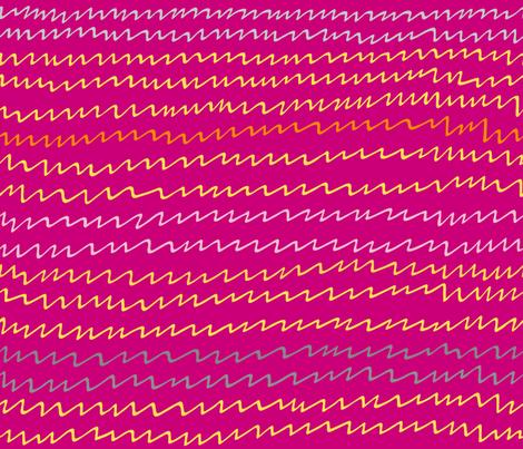 Gallah zigzag fabric by yellowstudio on Spoonflower - custom fabric