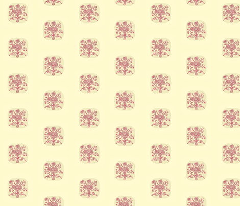 Printer's Roses fabric by amyvail on Spoonflower - custom fabric