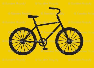 Medium Joy Ride! in yellow and black