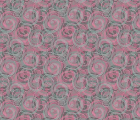elephant swirl fabric by glimmericks on Spoonflower - custom fabric