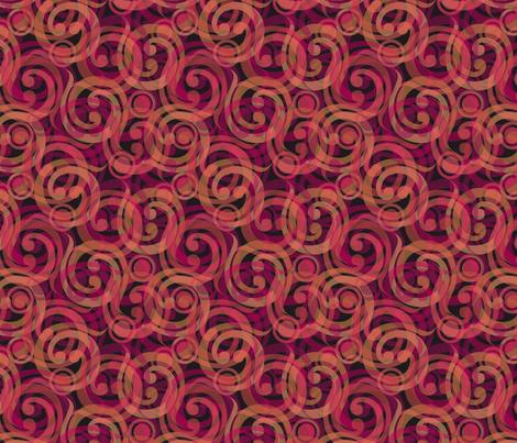 dragons breath swirl fabric by glimmericks on Spoonflower - custom fabric