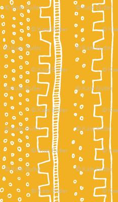 Vertical Light Orange Stripe