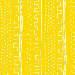 Vertical Lemon Stripe