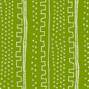 Vertical Green Stripe