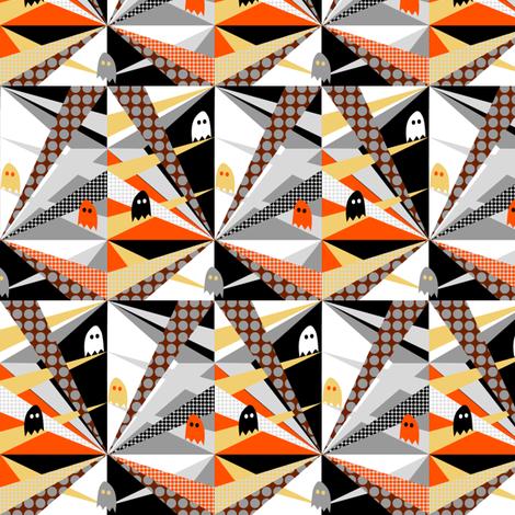 haunted ghostwalk synergy0008 fabric by glimmericks on Spoonflower - custom fabric