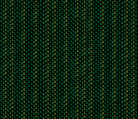 Matrix fabric by kociara on Spoonflower - custom fabric