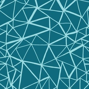 Fragments - Simple - Teal