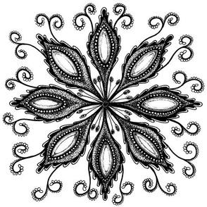Eight Petal Flower
