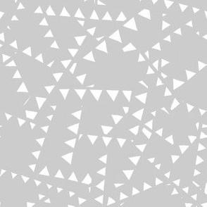 Triangle Ghost - Light Gray