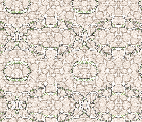 Organic Branches fabric by pange on Spoonflower - custom fabric