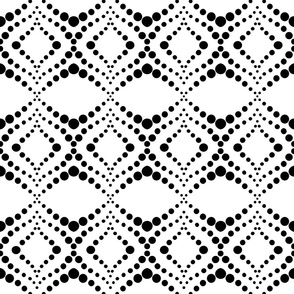 Moroccan Tiles in Black and White