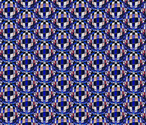 Mosaic: 8 Bit Inspiration fabric by krussimages on Spoonflower - custom fabric