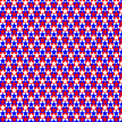 Red White Blue Star