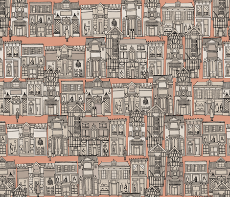 Avenue des Mode fabric by scrummy on Spoonflower - custom fabric