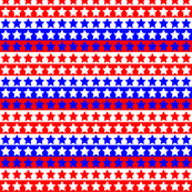 Red White Blue Star Stripe