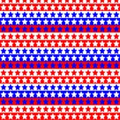 Red White Blue Star Stripe