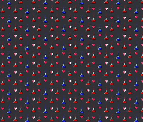 Mana Up fabric by gingersnaptea on Spoonflower - custom fabric