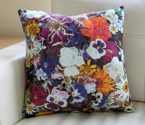 Autumn Confetti Pillow