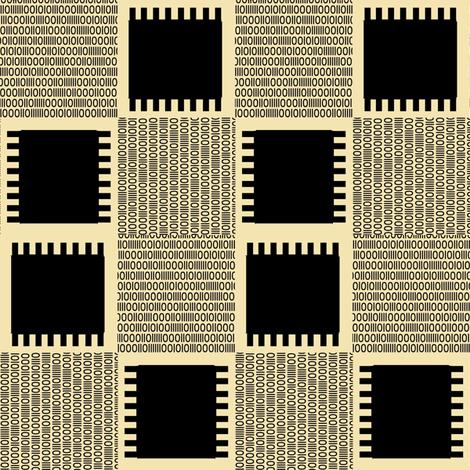 Binary Chips fabric by house_of_heasman on Spoonflower - custom fabric