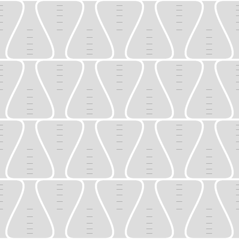 Erlenmeyer conical flasks fabric by sef on Spoonflower - custom fabric