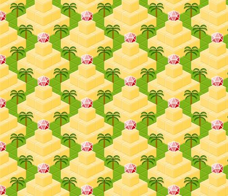 ziggurat zigzag fabric by sef on Spoonflower - custom fabric