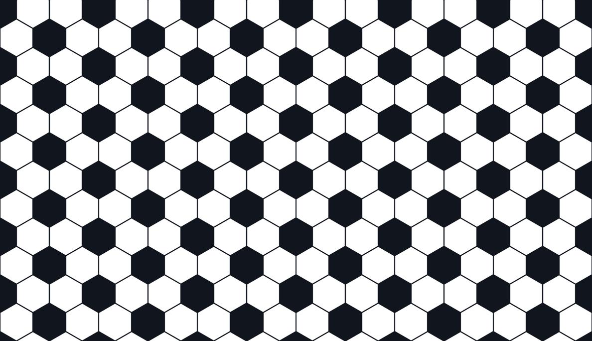 Soccer ball pattern fabric - newmomdesigns - Spoonflower