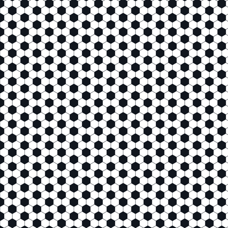 Soccer ball pattern fabric by newmomdesigns on Spoonflower - custom fabric