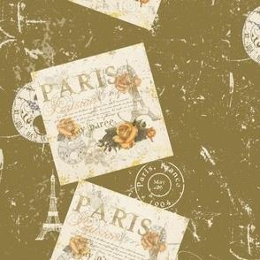Vintage Paris Roses