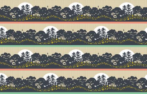 Light Up The Night fabric by cerigwen on Spoonflower - custom fabric