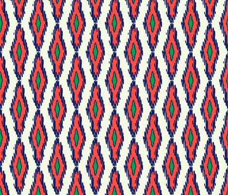 ikat fabric by holli_zollinger on Spoonflower - custom fabric