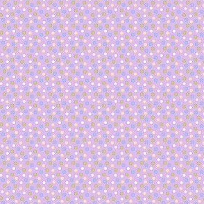 Spot candy mix (lavender ground)