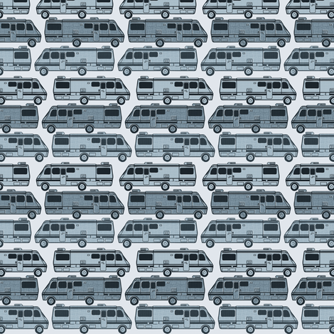 vans light blue fabric by susiprint on Spoonflower - custom fabric