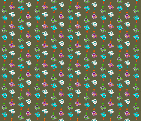 gamers' classic fabric by domoshar on Spoonflower - custom fabric