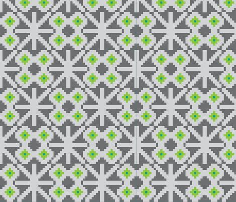 xox-ch-ch fabric by flock on Spoonflower - custom fabric